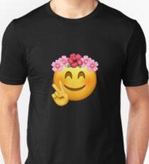 Emoji | Birthday Girl | Flower Crown T-Shirt