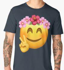 Emoji | Birthday Girl | Flower Crown Men's Premium T-Shirt