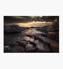 The Giant's Causeway County Antrim Northern Ireland Photographic Print