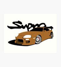 Toyota Supra Art Print