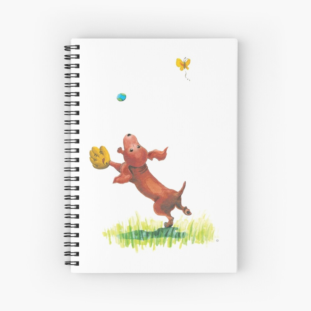 A Dachshund's Wish Spiral Notebook