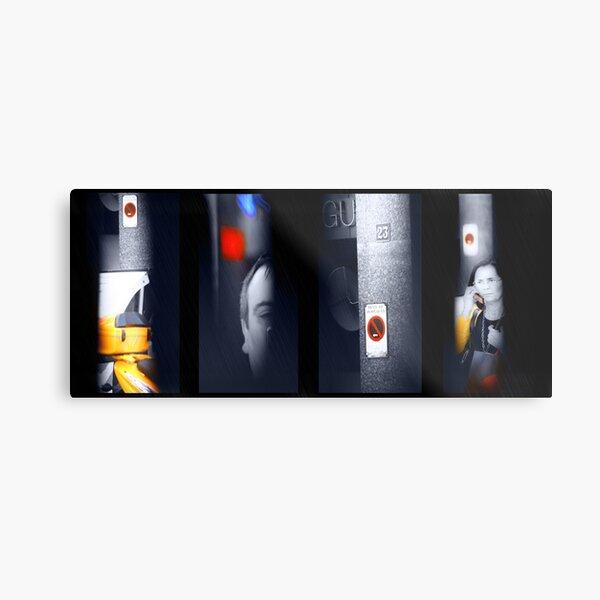 DimmedEyes&TimeFissures Metal Print