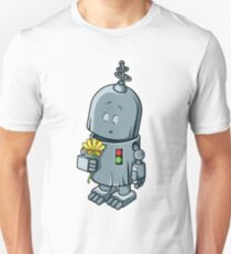 Story about the robot & a flower T-Shirt