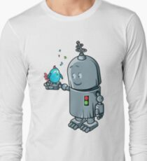 Story about the robot & a blue bird T-Shirt