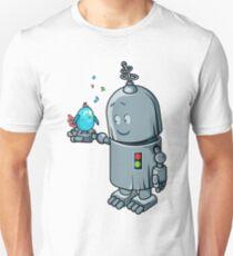 Story about the robot & a blue bird T-Shirt