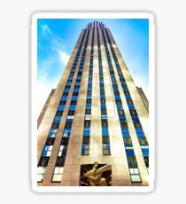 Rockefeller Center 30 Rock  Sticker