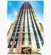 Rockefeller Center 30 Rock  Poster