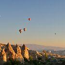 Balloons, Cappadocia,Turkey by Kasia Nowak