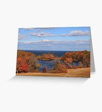 Autumn On Long Island Sound Greeting Card
