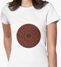 Autumn Pattern Women's Fitted T-Shirt
