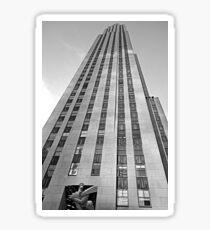 Rockefeller Center 30 Rock v2  Sticker