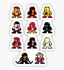 megaman speedsters Sticker
