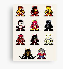 megaman speedsters Canvas Print