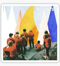 Alvvays - Antisocialities Album Cover Sticker