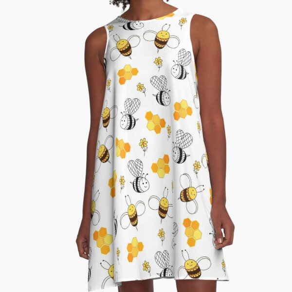 Lovely bees A-Line Dress