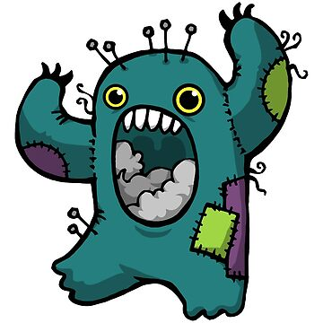 Sewing Monster by WildSally