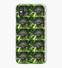 Slow Commando Turtle Helmet iPhone Case/Skin