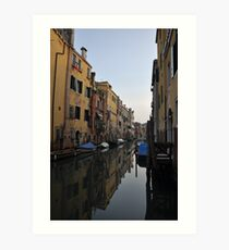 Early Morning, Cannaregio, Venice Art Print