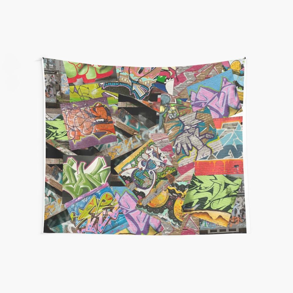 Graffiti Wandbehang