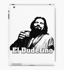 The Big Lebowski - El Duderino  iPad Case/Skin