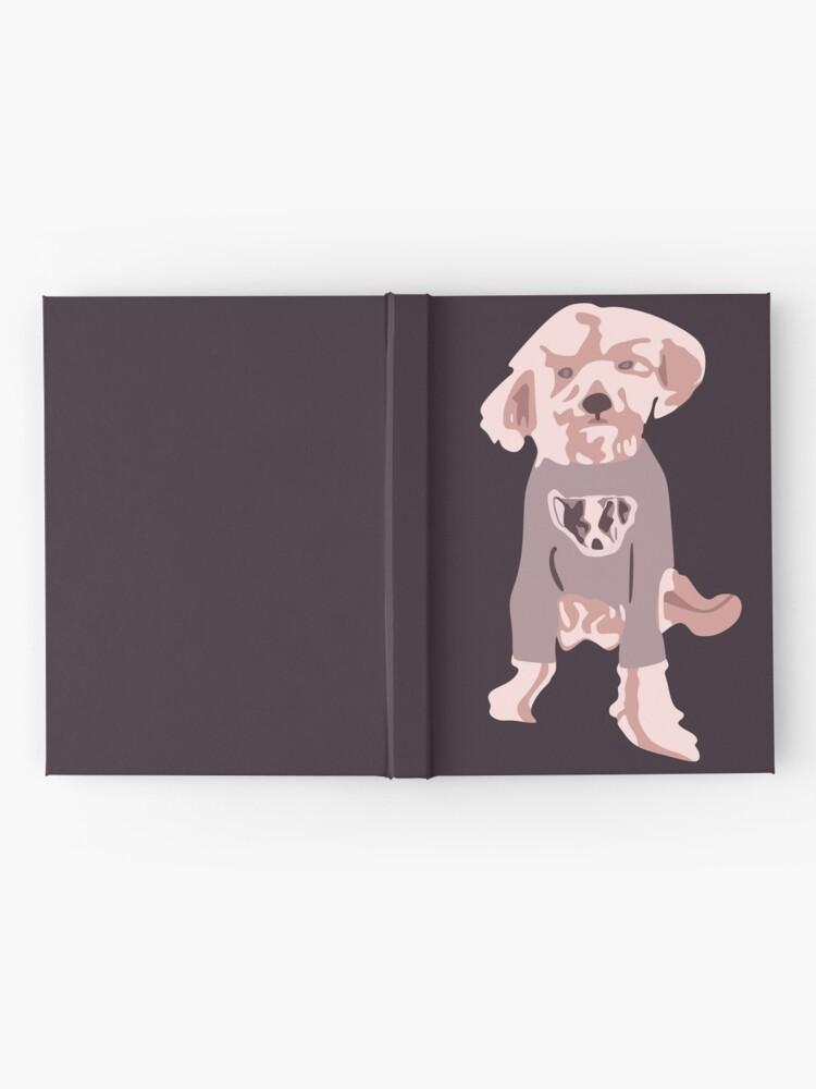 Vista alternativa de Cuaderno de tapa dura Ellen DeGeneres - The Ellen Show Dog Tee