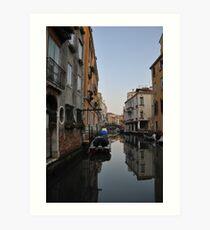 Venetian Canal, Cannaregio, Venice Art Print