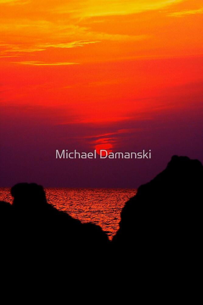 Pink Sun by Michael Damanski