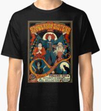 Sanderson Sisters Vintage Tour Poster Classic T-Shirt