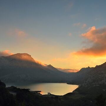 Serra de Tramuntana Sunset, Majorca, Spain by kasianowak