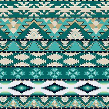 Aztec pattern by BenH4