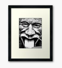 The Gargoyle Is Watching   Framed Print