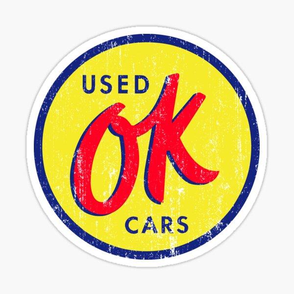 OK Used Cars Sticker