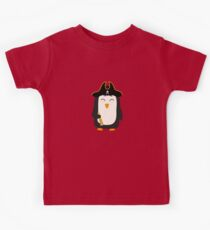 Penguin Pirate Captain Rwfb5 Kids Clothes