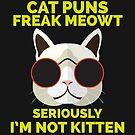 Cat Puns by Explicit Designs