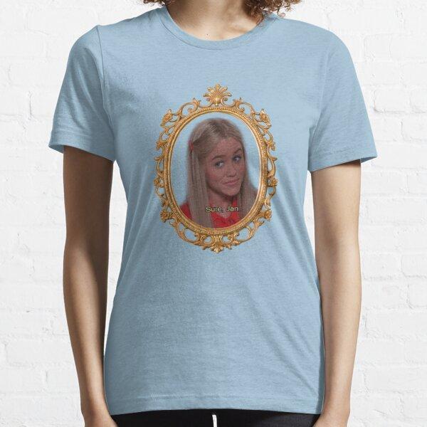 "Marcia Brady ""Sure, Jan"" Essential T-Shirt"