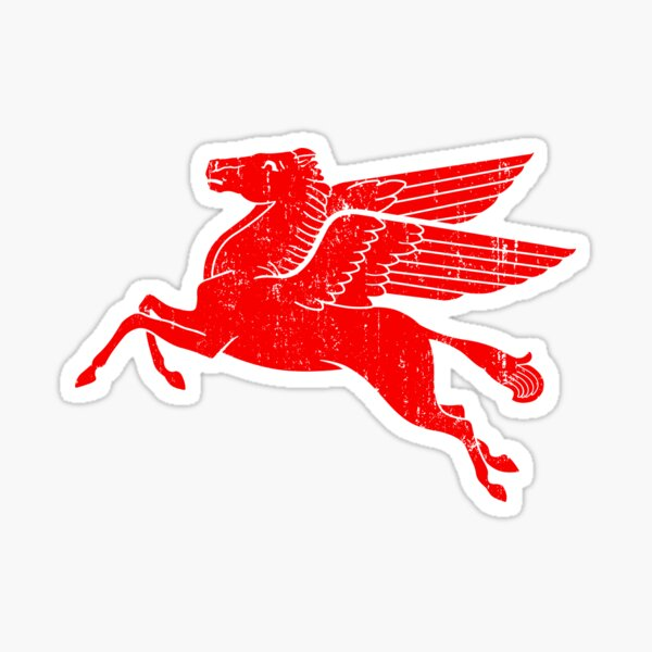 Pegasus - Classic Style Sticker