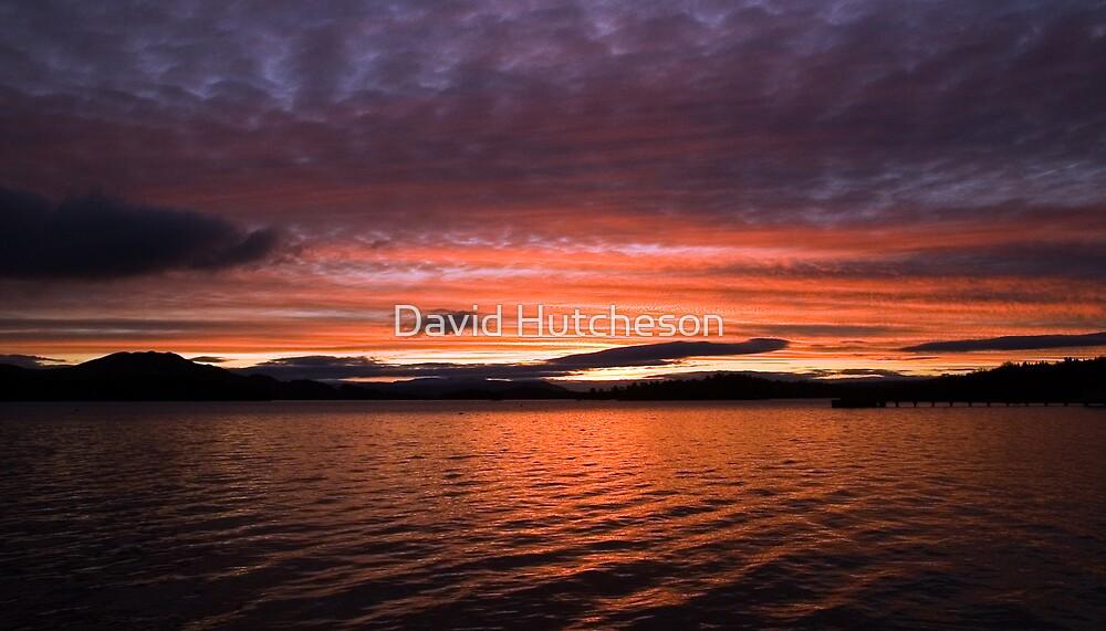Loch Lomond Sunrise - Luss by David Hutcheson