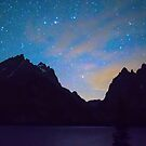Colorful Teton Night by Bo Insogna