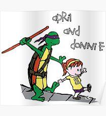 April und Donnie Poster
