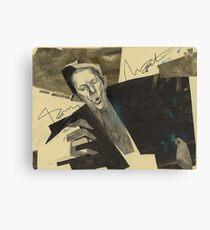 Tom Waits worldwide desert soul Canvas Print