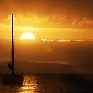 Sailboat Sunrise by Marloag