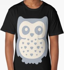 Dusk Pastels Owl Long T-Shirt