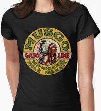 Musgo Gasoline Women's Fitted T-Shirt
