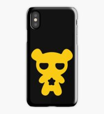 Attention! Yellow Lazy Bear! iPhone Case/Skin