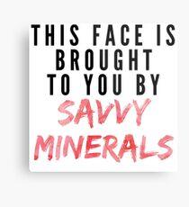 Savvy Mineralien Metallbild