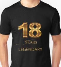 18. Geburtstag Unisex T-Shirt