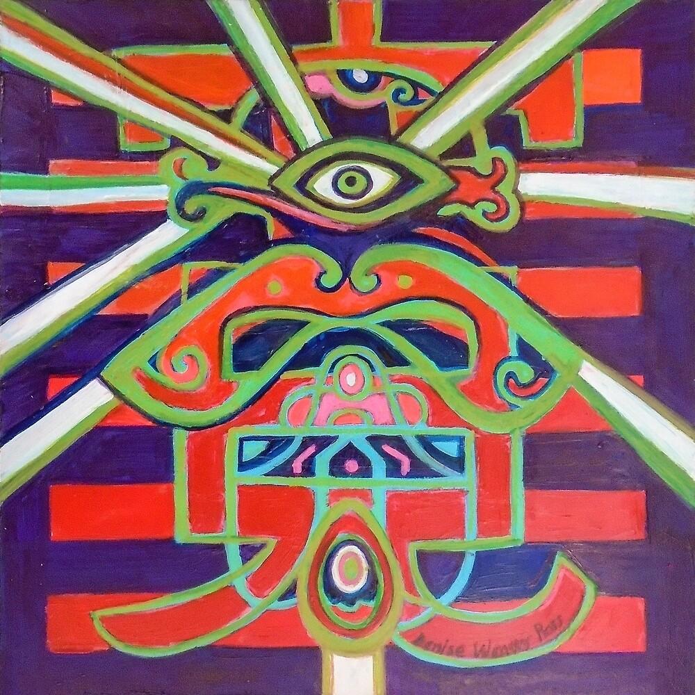 Hexagram 14: Ta Yu (Wealth) by Denise Weaver Ross