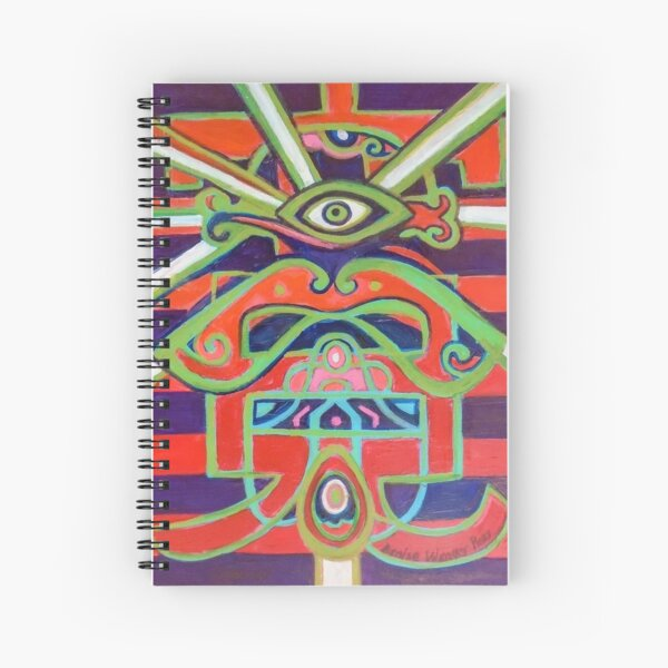 Hexagram 14: Ta Yu (Wealth) Spiral Notebook