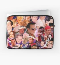 Steve Buscemi Galaxy Collage Laptop Sleeve