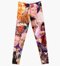 Steve Buscemi Galaxy Collage Leggings